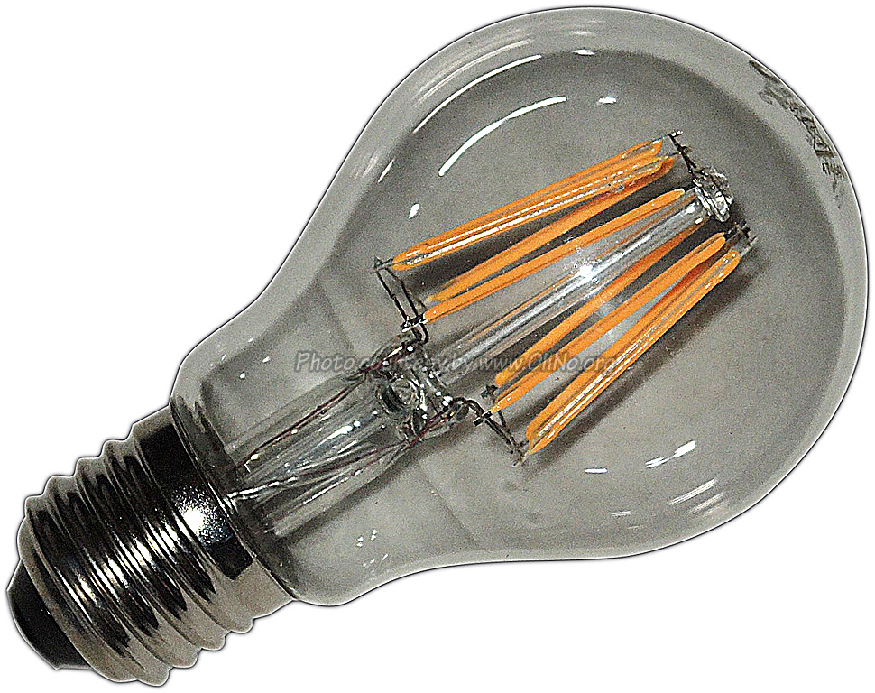 Calex - LED Birne mit Glühfaden 600lm 6W 2700K