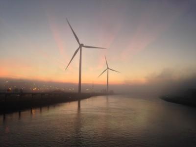 Met windmolens stroom opwekken i.p.v. aardgas
