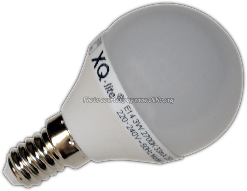 XQ-lite - LED lamp E14 3W warmwit XQ1453