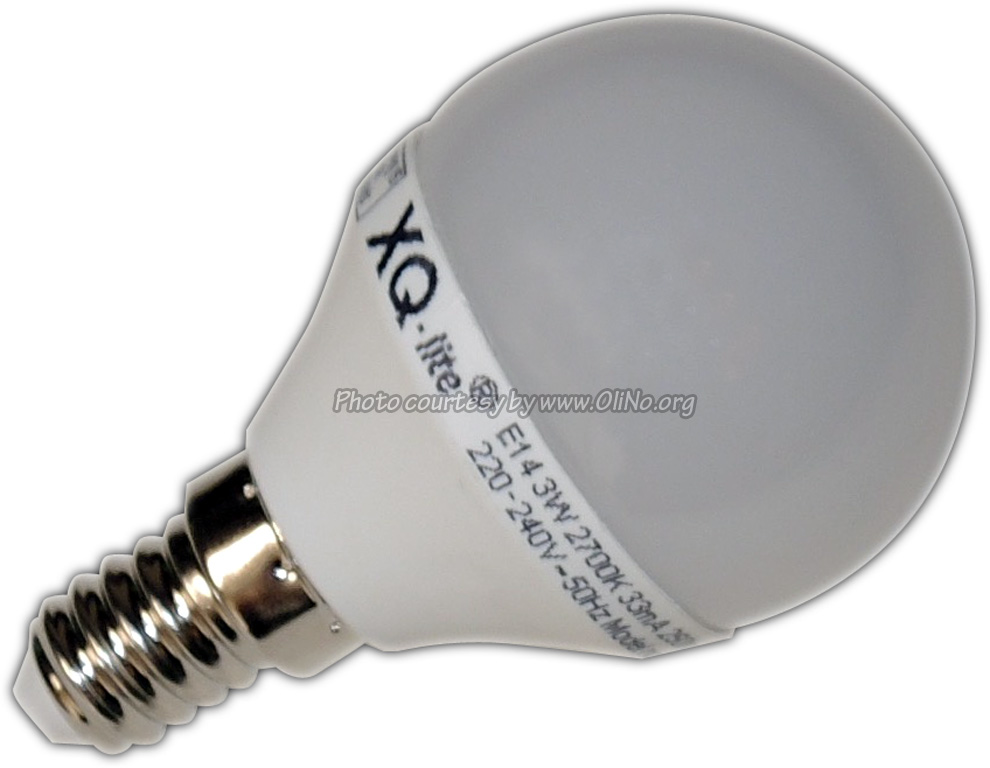 XQ-lite - LED Birne E14 3W warmweiß XQ1453