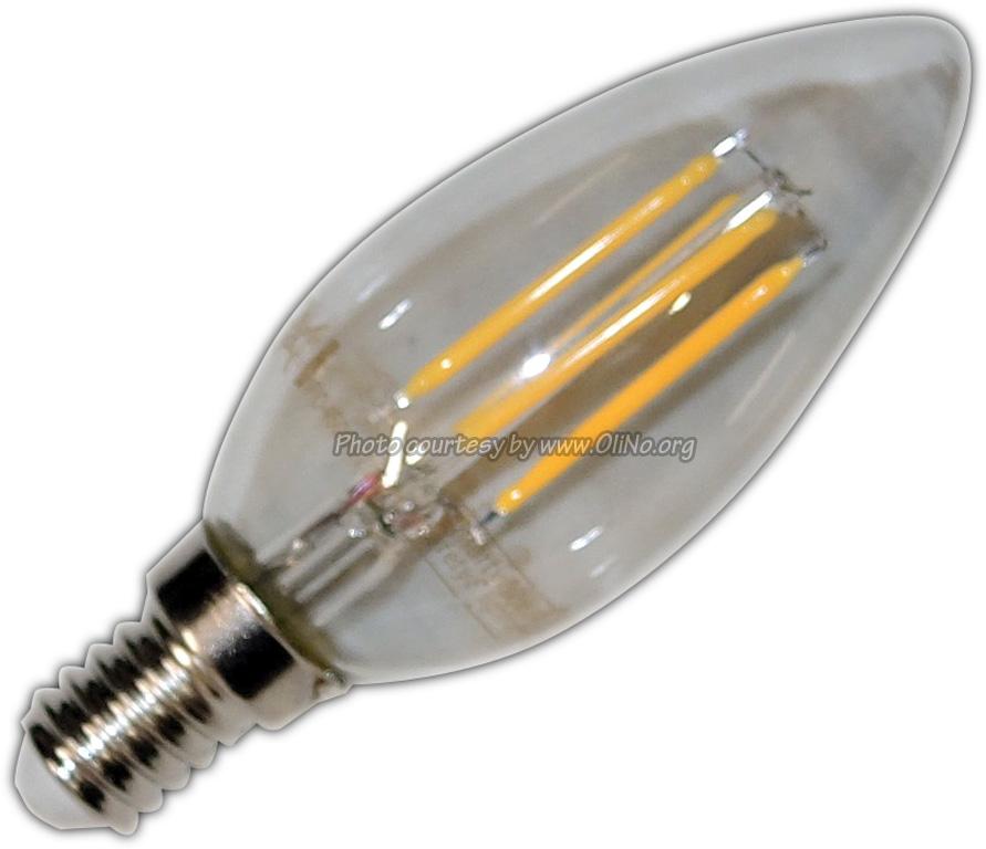 XQ-lite - LED kaars E14 4W filament XQ1462