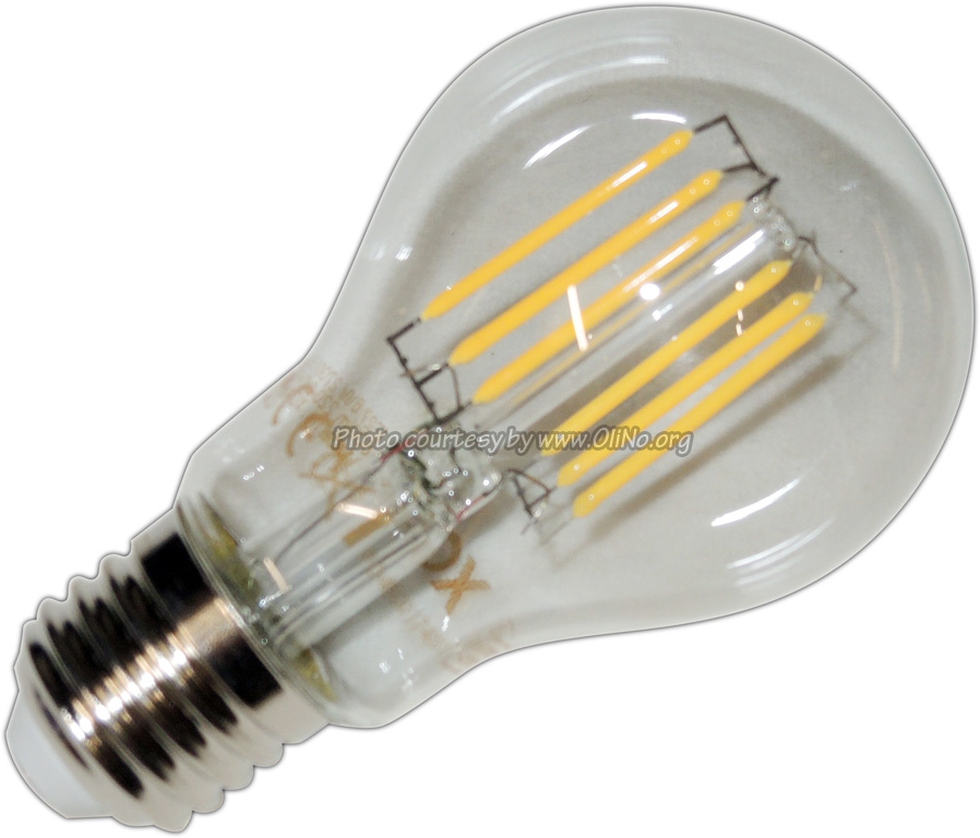 XQ-lite - LED bulb E27 6W filament XQ1466