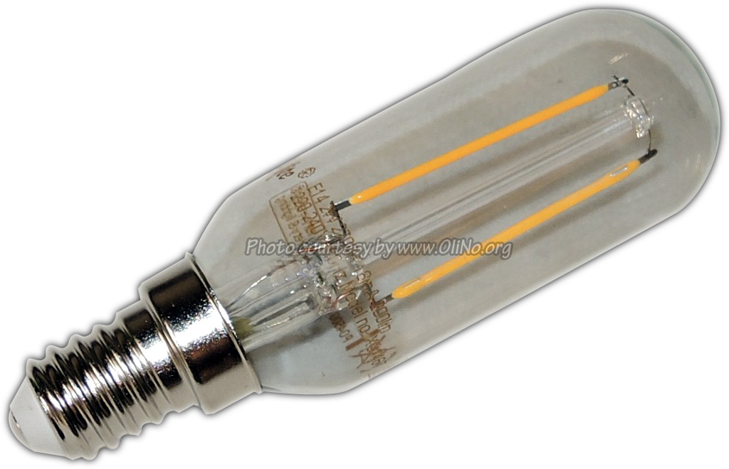XQ-lite - LED Rohr E14 2W Glühfaden XQ1467