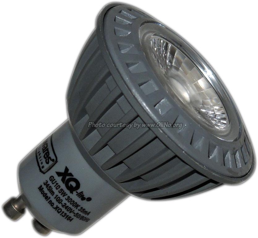 XQ-lite - GU10 LED 5W WW COB XQ13164