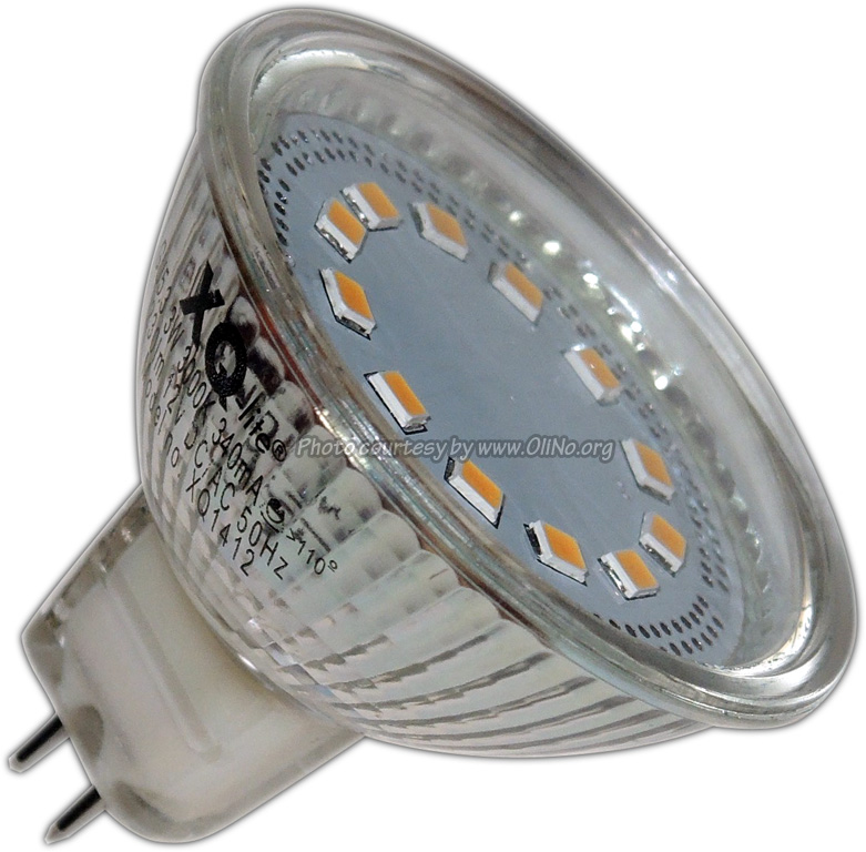 XQ-lite - LED SPOT MR16 3W WW XQ1412