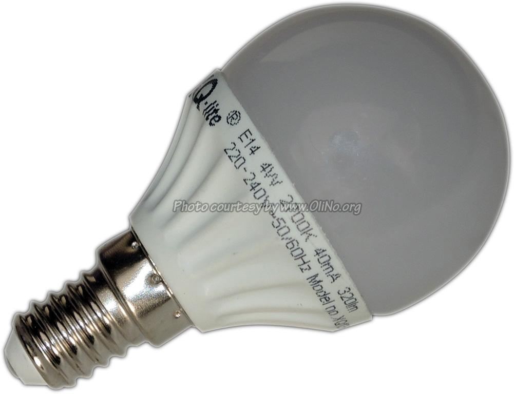 XQ-lite - LED lamp XQ-lite 4W E14