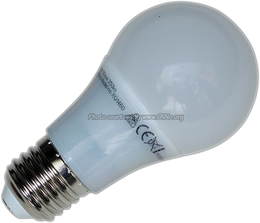 XQ-lite - XQ lite LED lamp E27 5W WW XQ1460