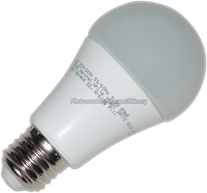 eglo eglo led lamp 9 5w e27 nw lampmetingen olino. Black Bedroom Furniture Sets. Home Design Ideas