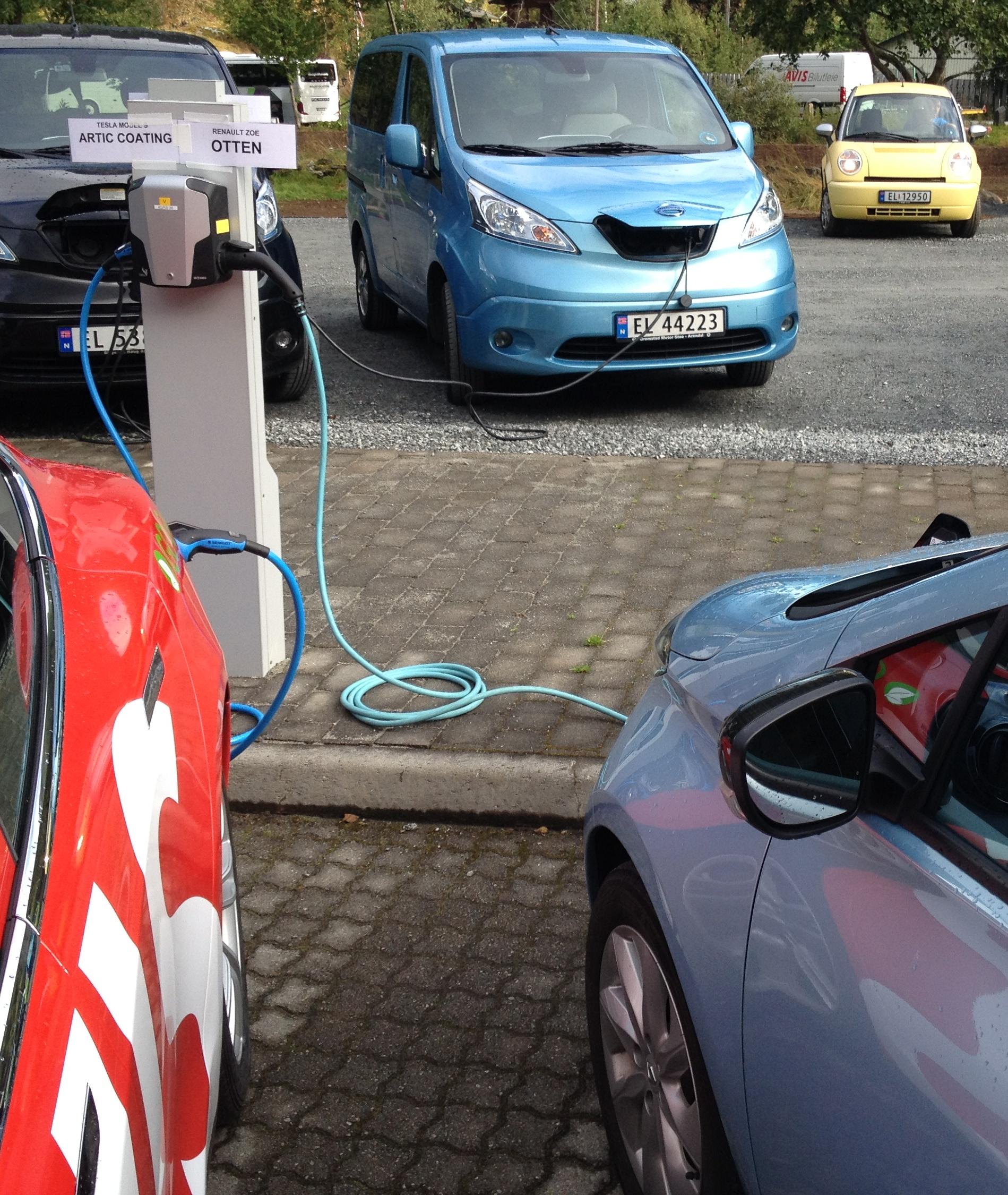 Op Elektrisch Avontuur Naar Noorwegen Transport Olino
