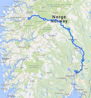 Hjelle - Oslo
