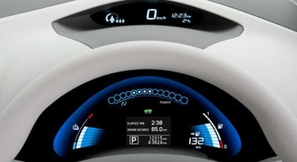 Dashboard Nissan Leaf