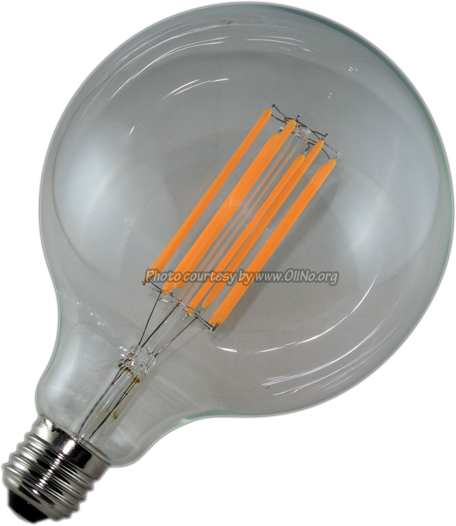 Bailey - FILAMENT LED G125 E27 8.3W 2200K DIMMABLE