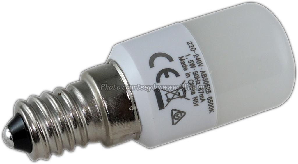 OSRAM - LED Fridge Lamp E14 T26 1.4W/855 cool white