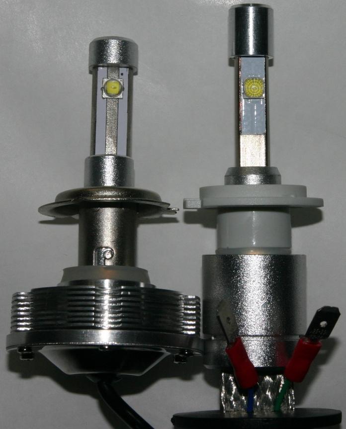 Test H7 Dimlicht / Groot licht LED-lampen - Energiebesparing| OliNo
