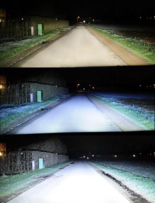 Vergelijk Halogeen LED 2x - Grootlicht