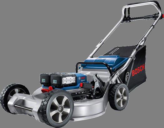 Snoerloze elektrische grasmaaimachine