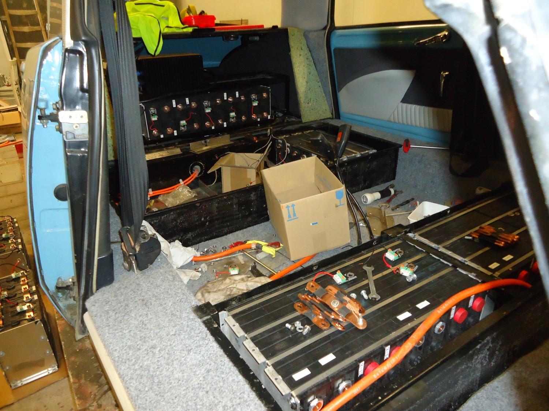Ombouw Van Een Klassieker Naar Elektrische Wagen Transport Olino