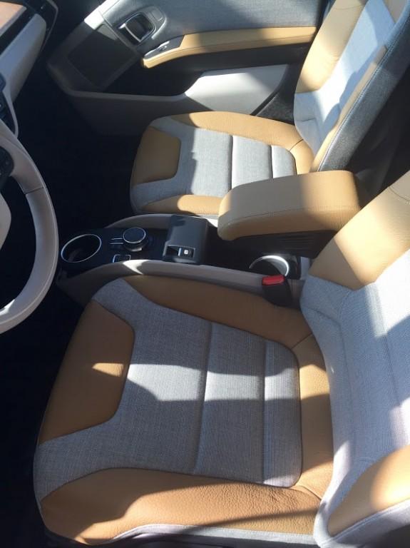 Stoelen BMWi3