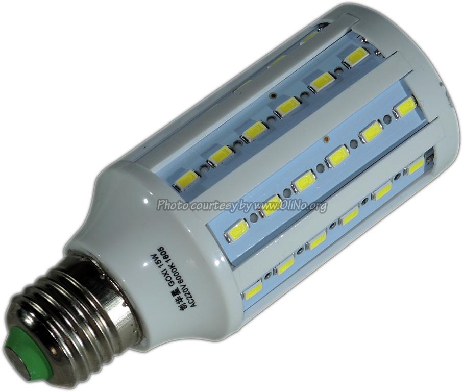 Banggood - E27 LED pure white 15W no flicker