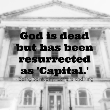 Capital is God