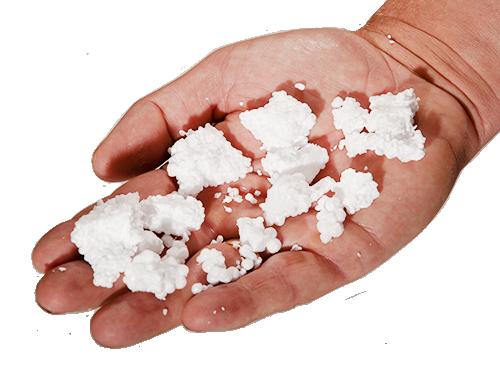 EPS korrels maken uw vochtige kruipruimte weer warm en droog. Daarnaast worden ze gemaakt van 100% gerecycled materiaal.