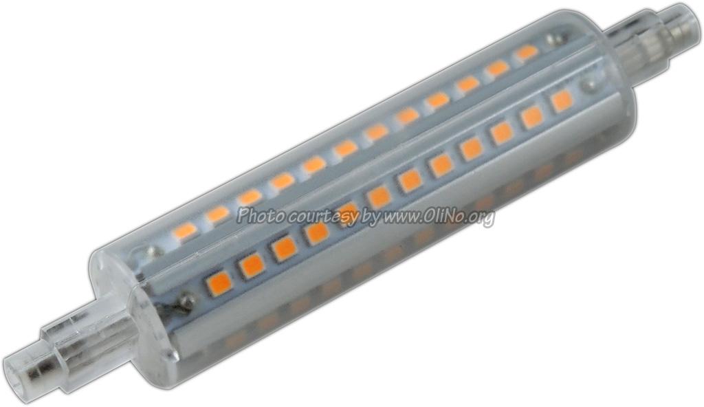 TopLEDshop - LED lamp 230V 12W R7S warm white