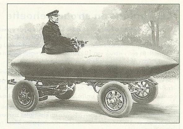 Elektrisch rijden in vroegere tijden.