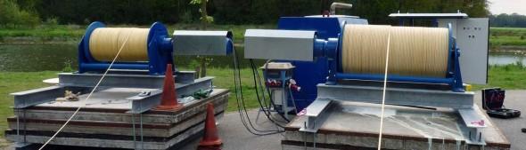 Grondstation kabels vlieger energie