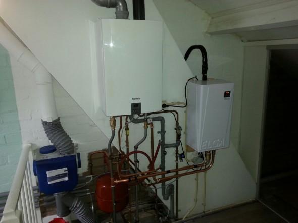 Warmtepomp in combinatie met een CV ketel. Oftewel een Hybride systeem.