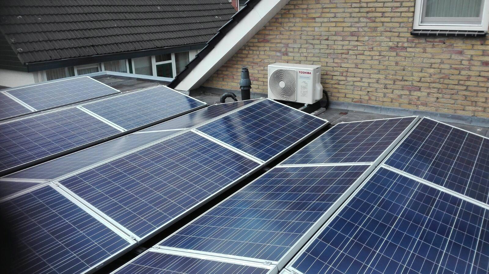 Warmtepompen voor particuliere nieuw bouw energiebesparing olino - Van schaduw dak ...