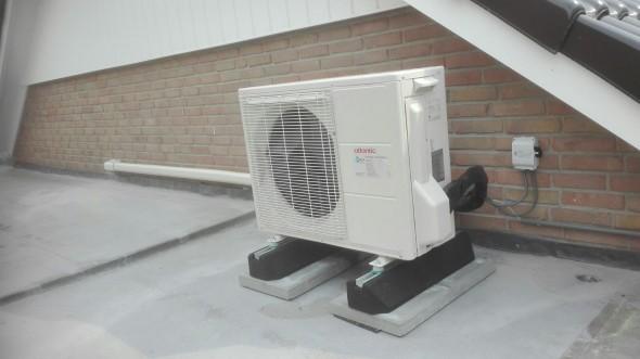 Alleen met een warmtepomp heel je huis verwarmen is mogelijk.