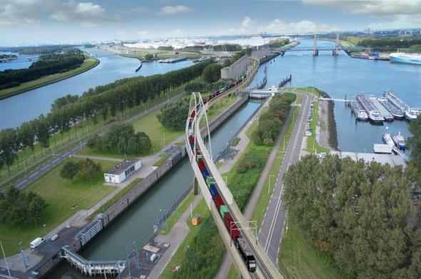 Theemswegtrace in Rotterdam