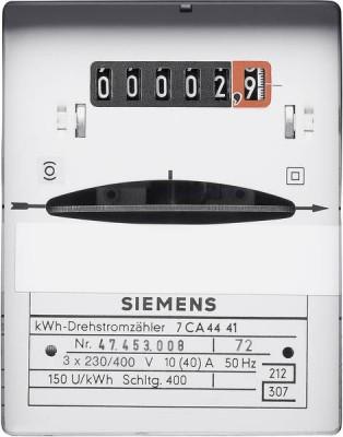 In één oogopslag zie precies hoeveel kWh je gebruikt hebt op een ouderwetse draaistroommeter. Zelfs bij een stroomstoring zijn de standen direct te zien.