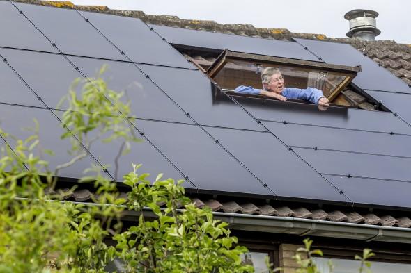dunne-filmpanelen van TSMC Solar, die extra gevoelig zijn voor licht, milieuvriendelijker gemaakt worden en ook gegarandeerd worden gerecycled.