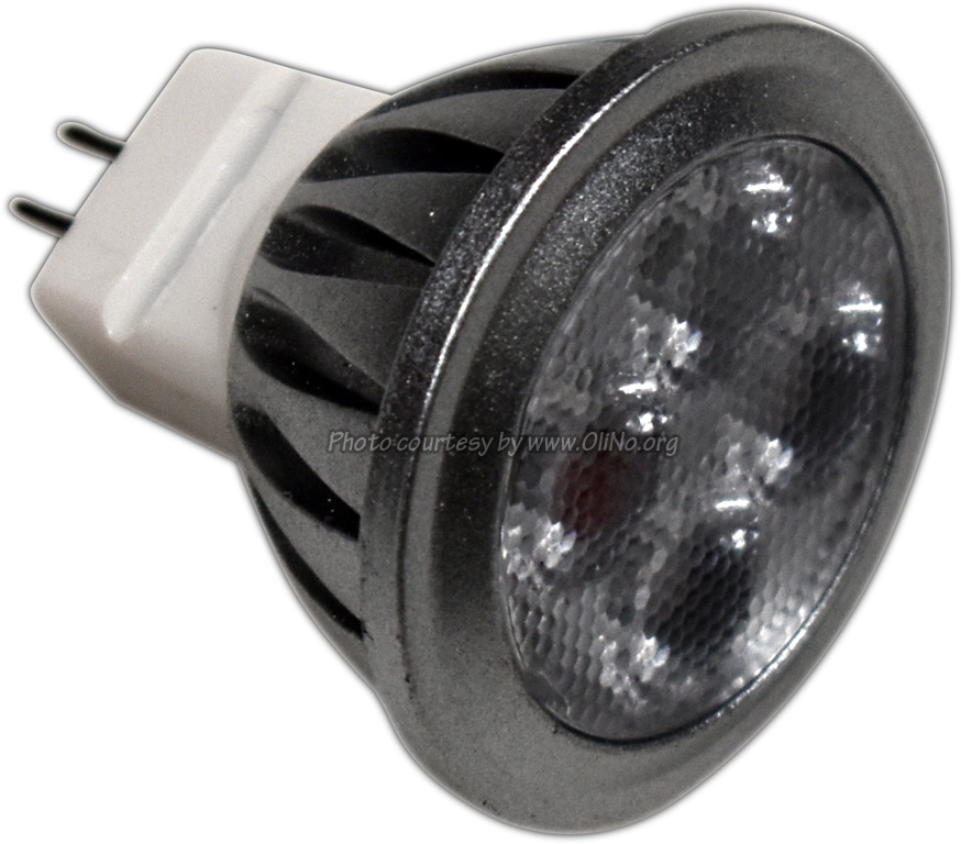 TopLEDShop - LED Lamp 12V 3W Warmwit MR11 dimbaar