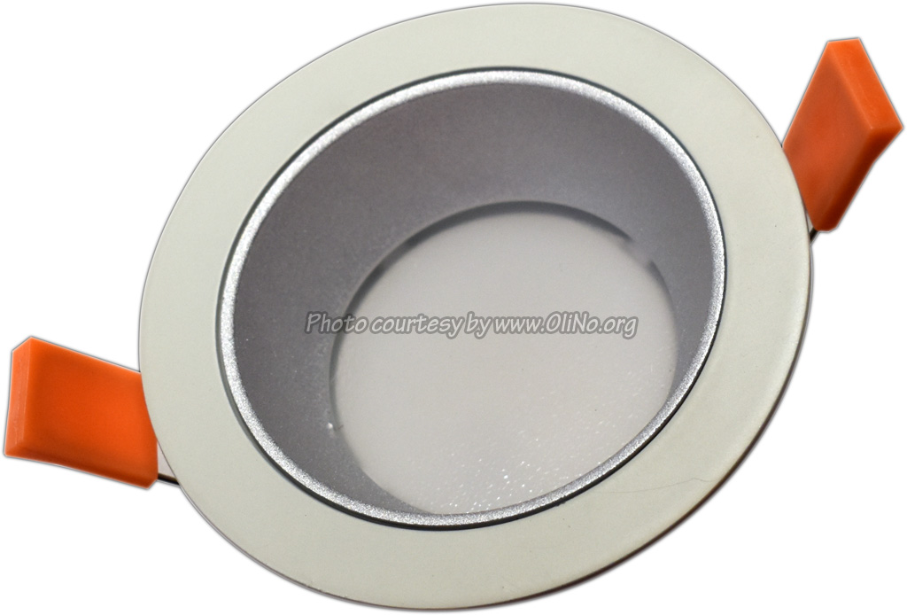 Clearlight - White downlight dia 110mm pcb 4000K silver reflector 250 mA