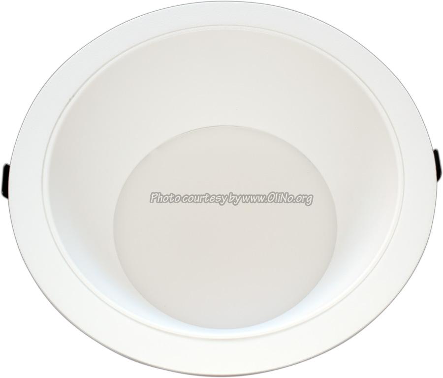 Clearlight - White downlight dia 235mm pcb 2700K white reflector 500 mA