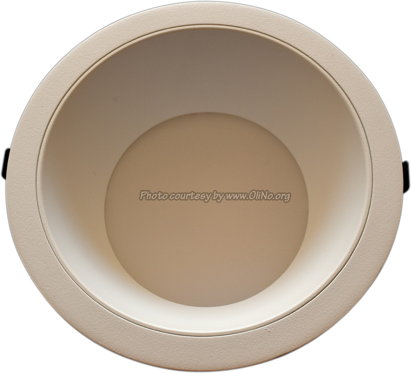 Clearlight - Witte downlight dia 235mm pcb 4000K white reflector 350 mA
