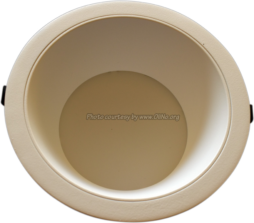 Clearlight - Witte downlight dia 235mm pcb 5000K witte reflector 350 mA