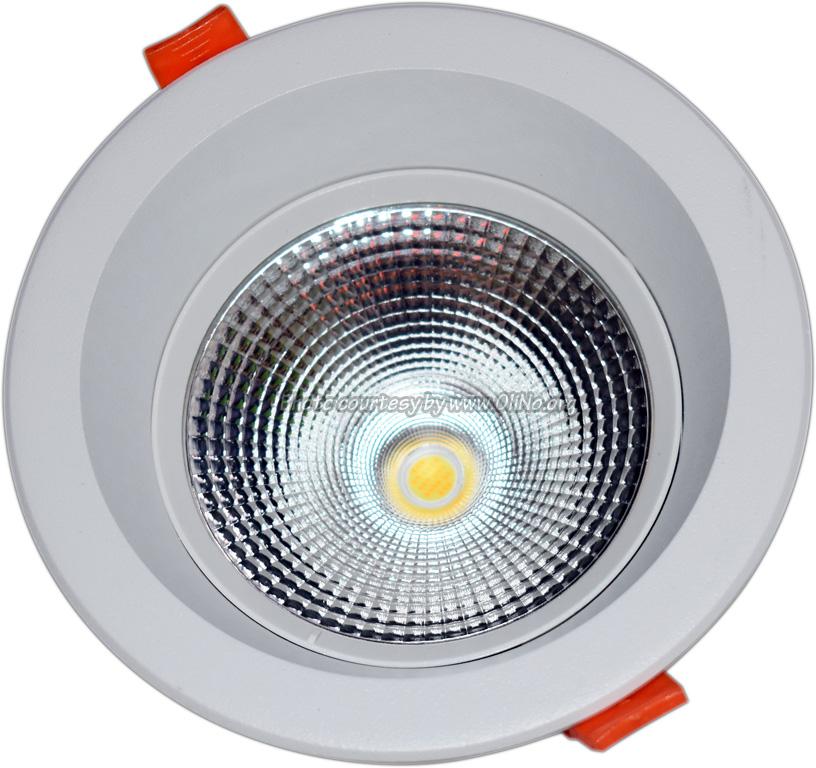 TLight - DLR145 LED 12W-3000K-5700K IP54 zwart sn st on 4000K