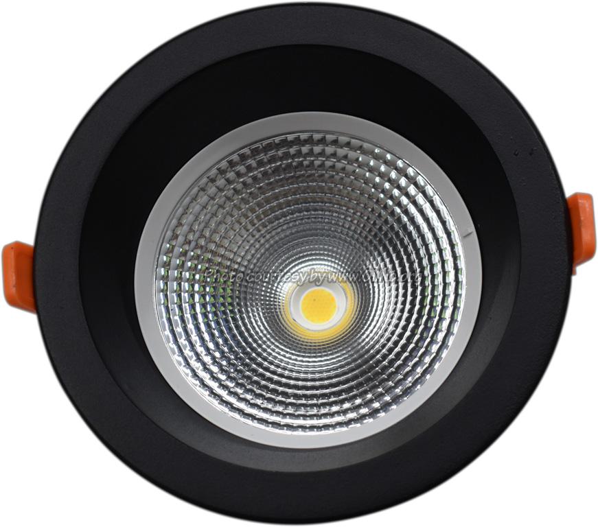 TLight - DLR170 LED 9W-3000K-5700K IP54 zwart sn st on 4000K