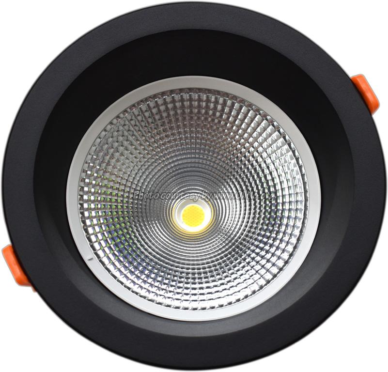TLight - DLR190 LED 12W-3000K-5700K IP54 zwart sn st  4000K