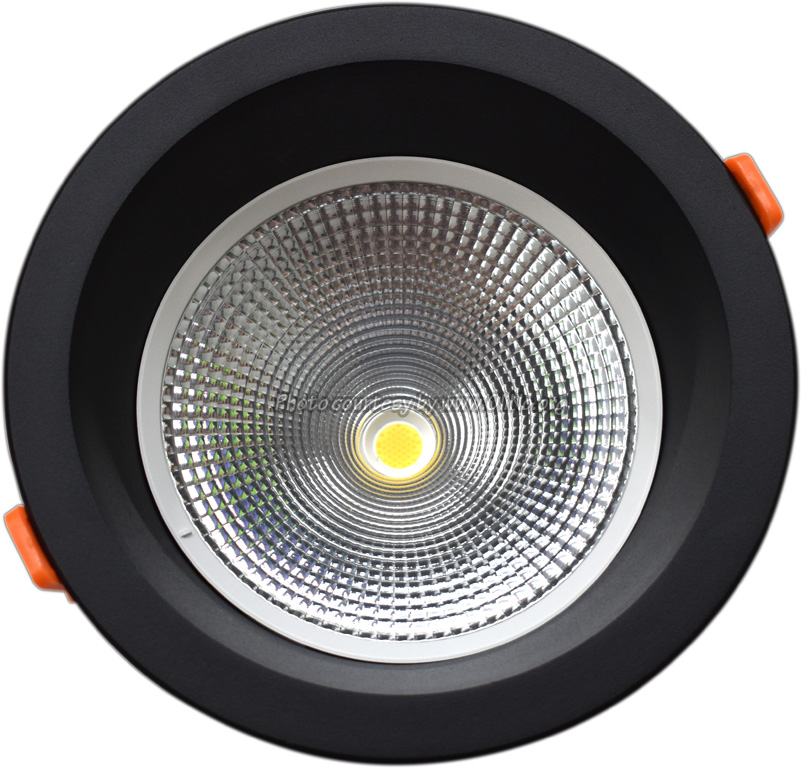 TLight - DLR190 LED 20W-3000K-5700K IP54 zwart sn st  4000K