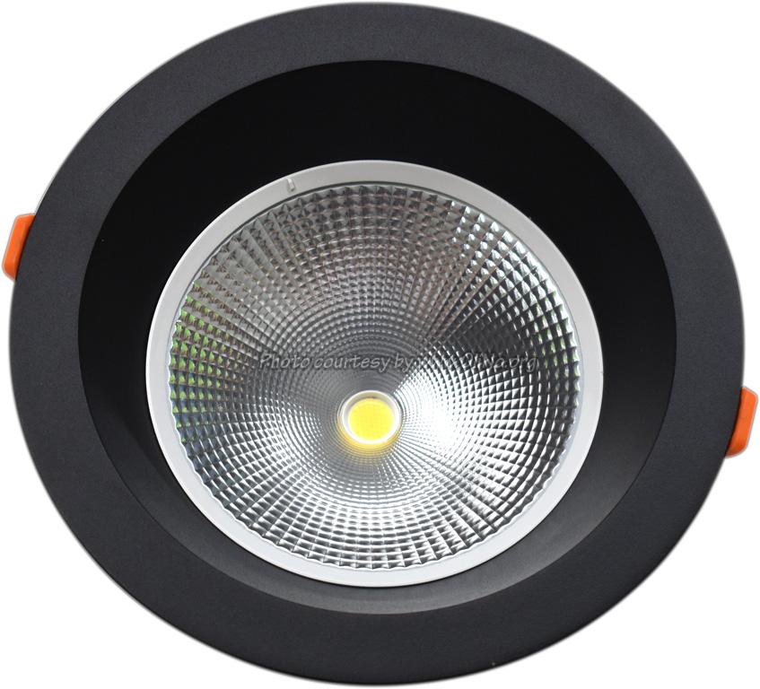 TLight - DLR230 LED 25W-3000K-5700K IP54 zwart sn st 4000K