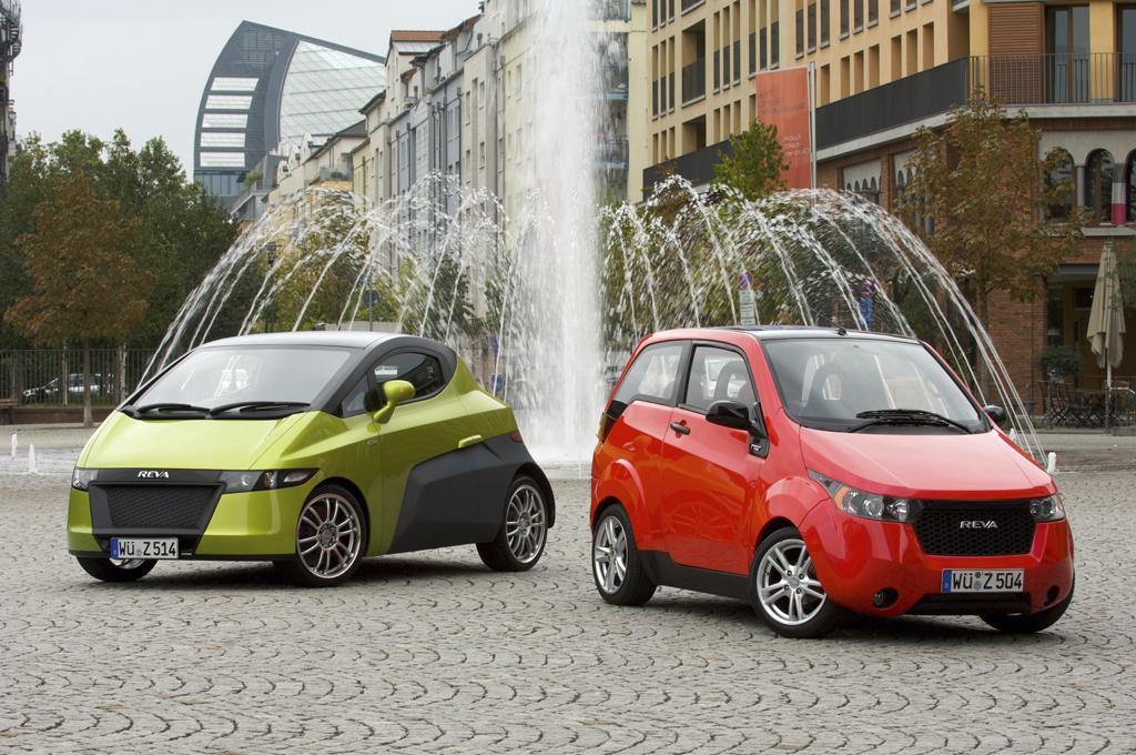 Electric Cars Reva NXR and Reva NXG   OliNo