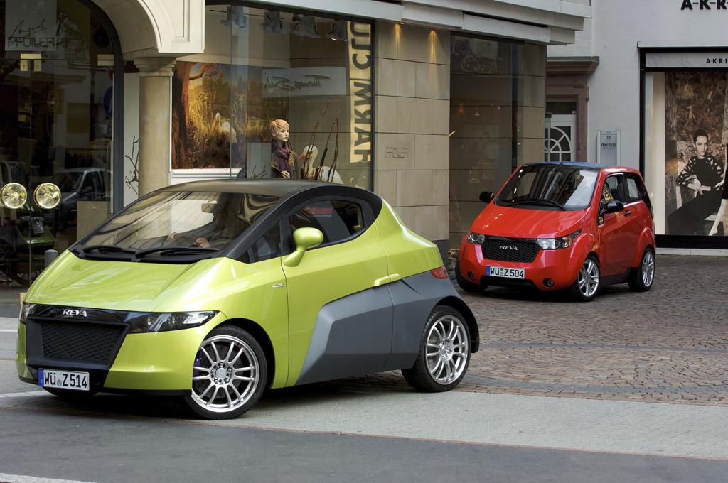 Electric Cars Reva NXR and Reva NXG | OliNo