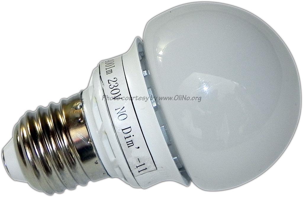Lemnis Lighting Asia u2013 Led-Glu00fchbirne E27 400lm : OliNo