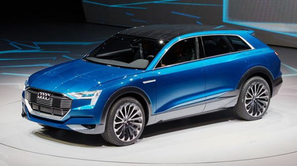 The Audi Q6 e-tron quattro. Ready for ultra fast charging.