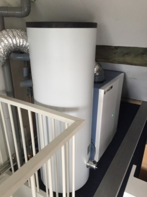 CO2 refrigerant heatpump system